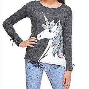 Justice unicorn shirt !!